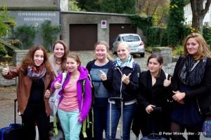 """So sehen Siegerinnen aus. Die Gruppe """"Ladies Night"""" aus Murnau."""